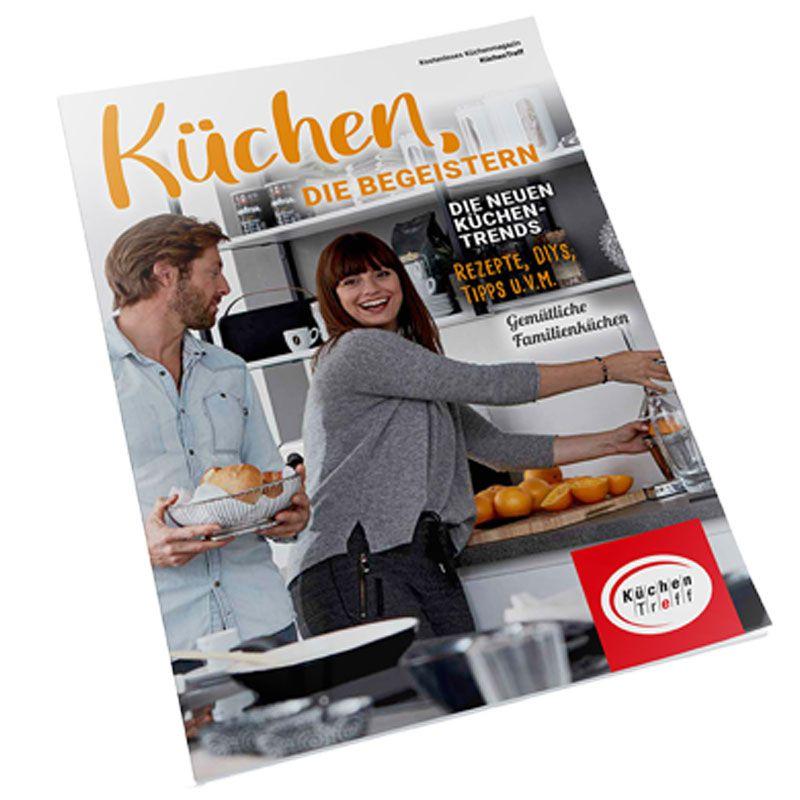 Jetzt kostenlos das KüchenTreff Journal bestellen